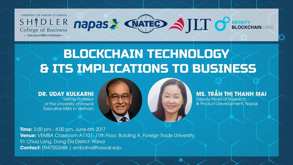"""Blockchain and its business implications"" workshop"