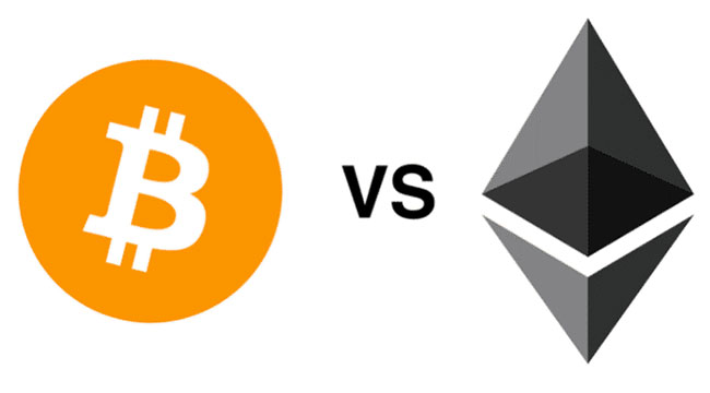 Blockchain Finance: Bitcoin vs. Ethereum - What's the Difference