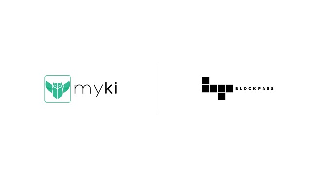 Partnership between Blockpass and Myki Password Security for the Identity Verification Service