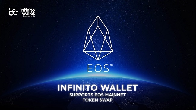 Infinito Wallet Expands to Support EOS MainNet Becoming the True Industry Leading Universal Wallet!