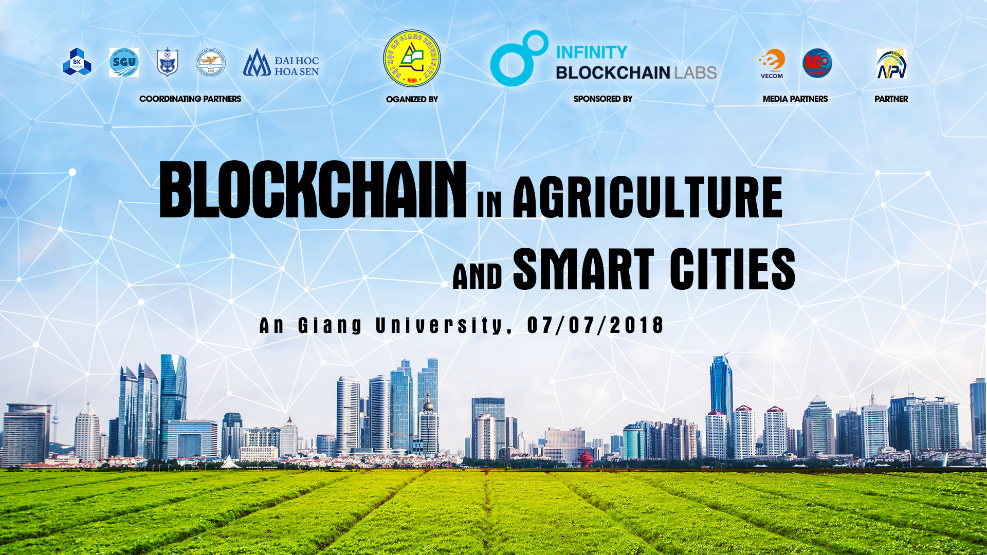 """Blockchain in Agriculture and Smart Cities"" Seminar"